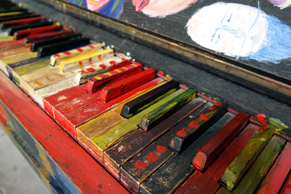 Gambar Warna Instrumen Warna Warni Lukisan Alat