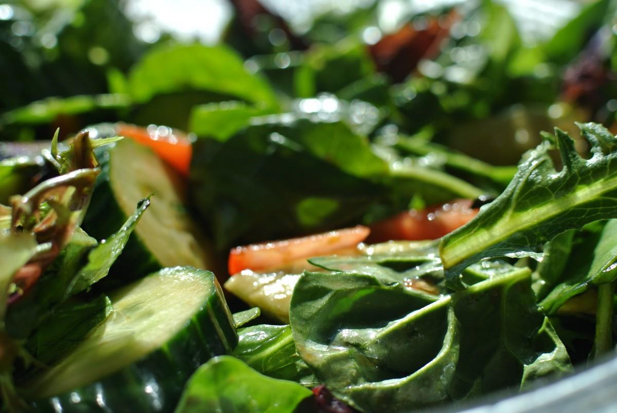 Трава в салат