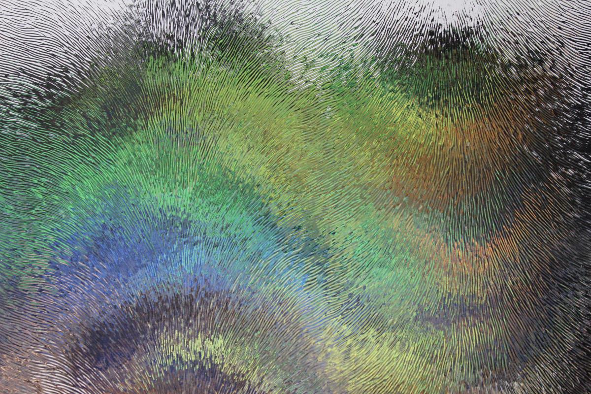 Объемные картины из бумаги красками  натюрморт цветы в