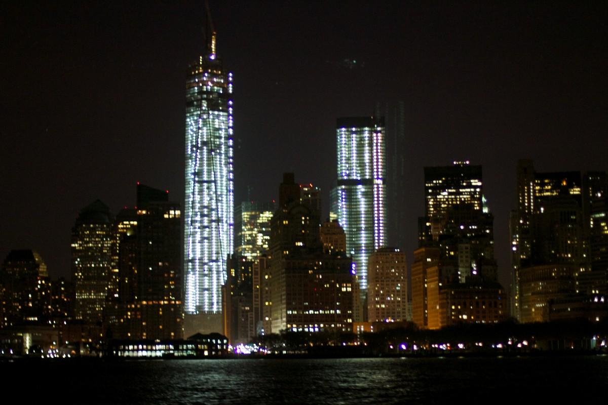 Небоскреб картинки ночью