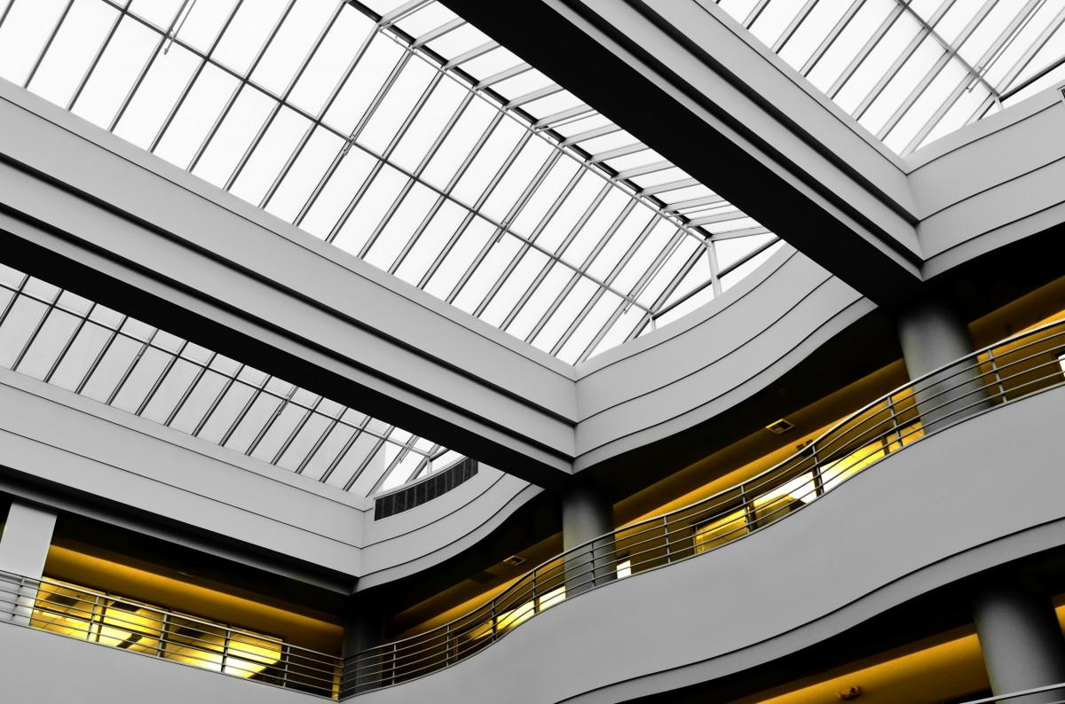 Free Images : architecture, auditorium, ceiling, pattern ...