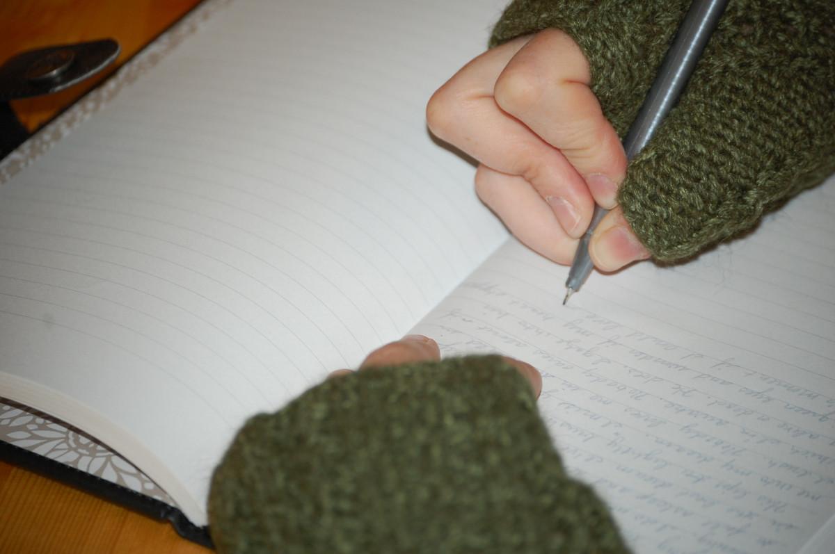 Tulisan yang sederhana