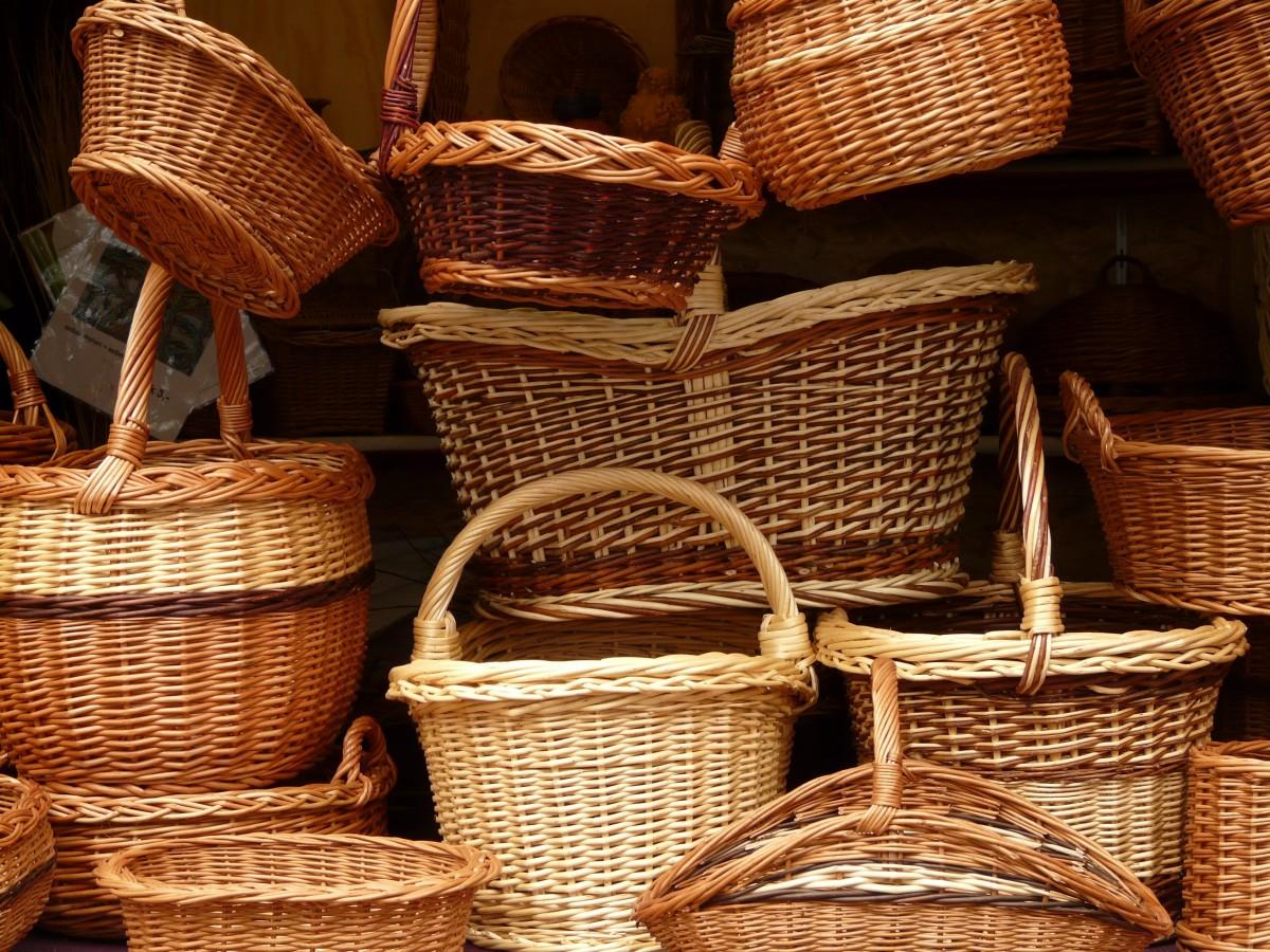 Картинки по запросу artesanato cestas e trançados