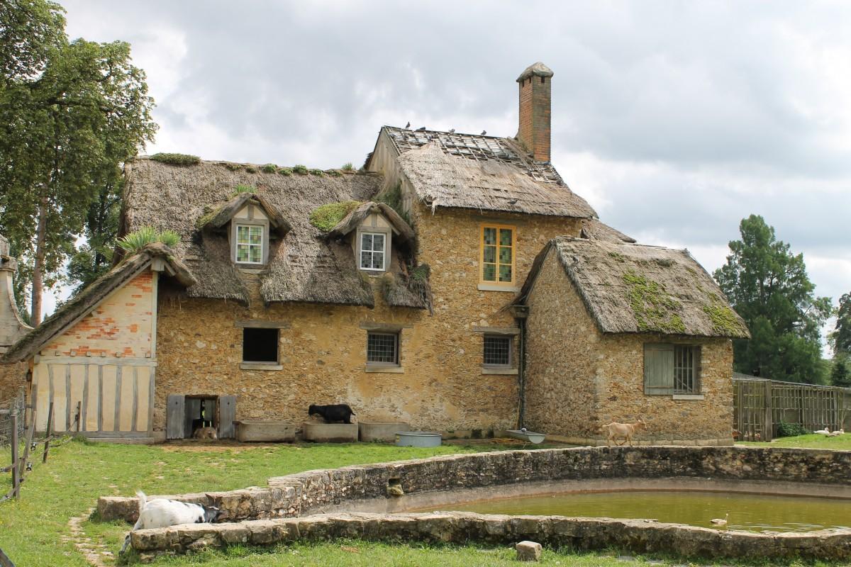 Images gratuites paysage architecture ferme maison for Extension maison zone rurale
