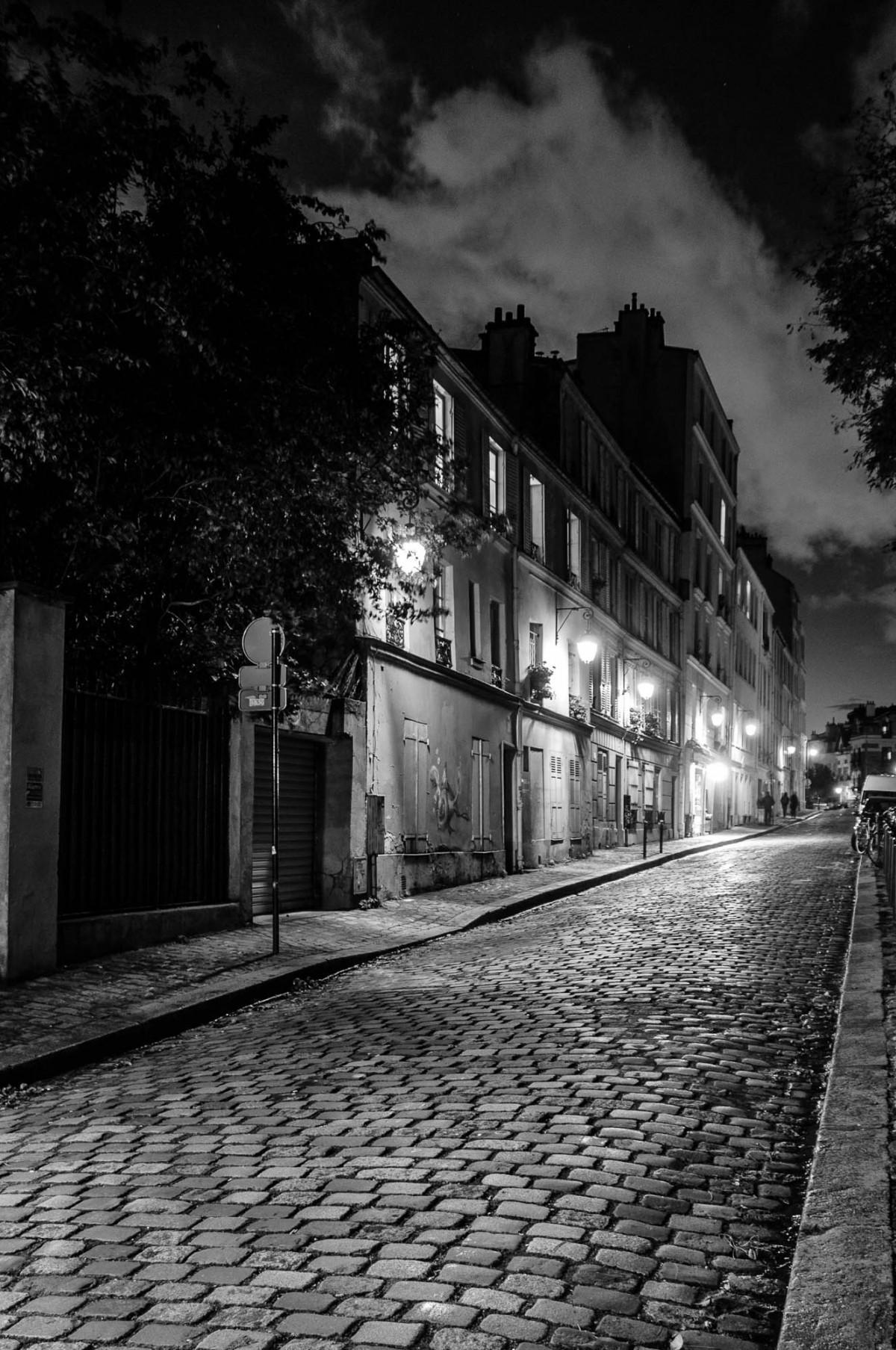 images gratuites noir et blanc route rue nuit la. Black Bedroom Furniture Sets. Home Design Ideas