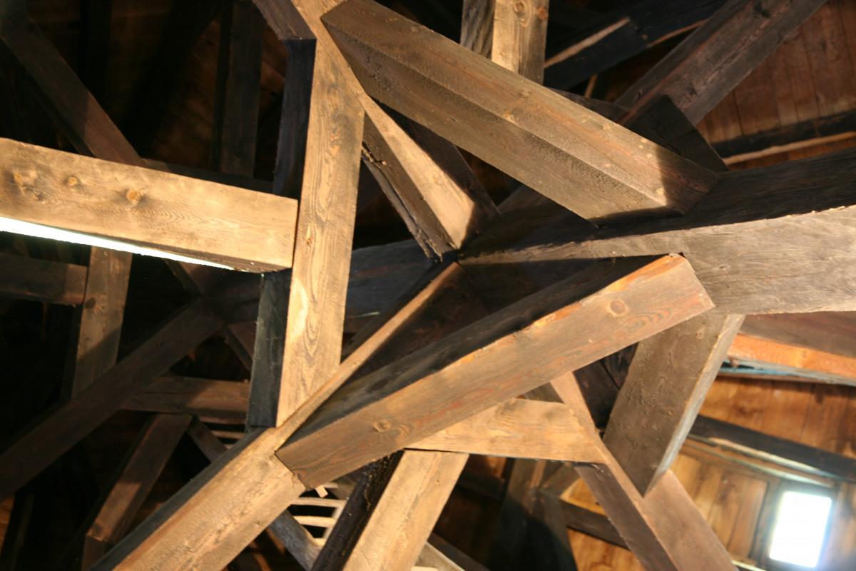 table structure bois sol château faisceau plafond Château Bois d'oeuvre éclairage conception Bois dur symétrie Montagne Alsace Vosges Chteaufort Koenigsbourg Orschwiller Charpente