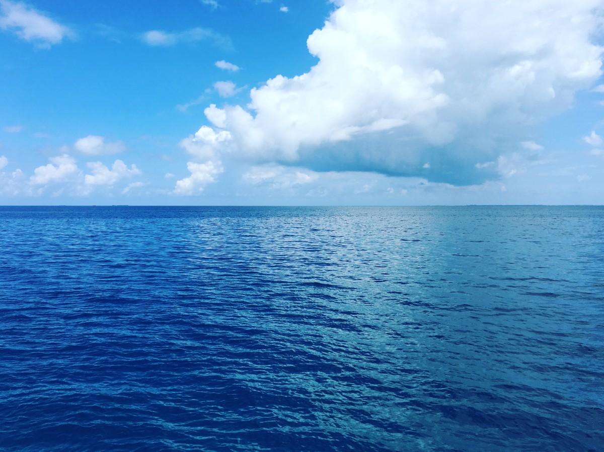 океан и небо фото