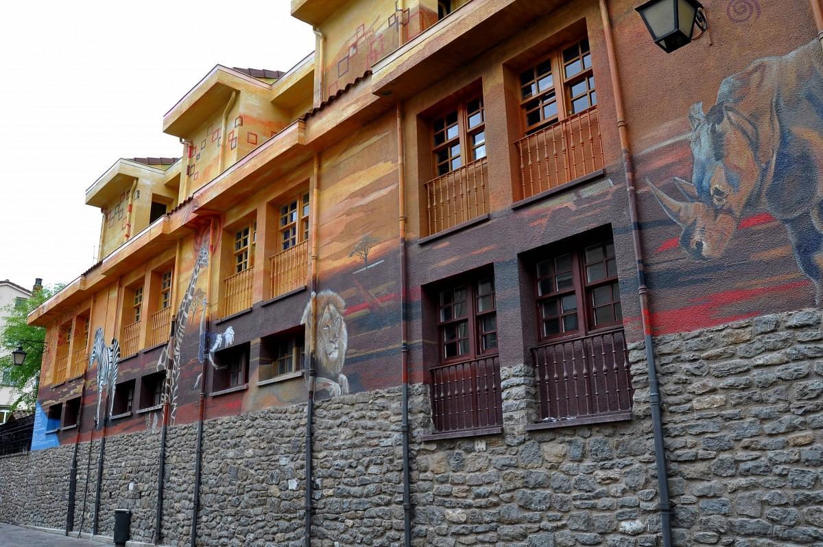 Fotos gratis calle casa pueblo pared fachada espa a - Casas gratis en pueblos de espana ...