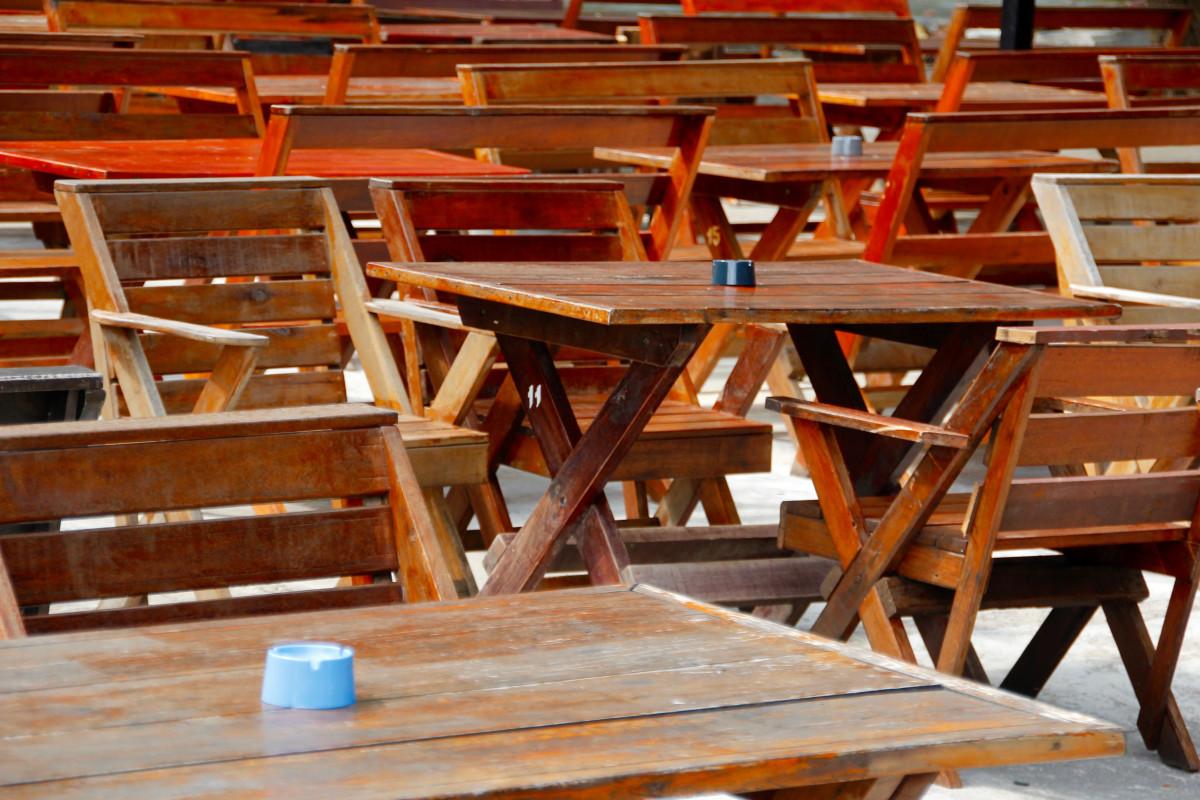 Images Gratuites Table Bois Siege Restaurant Ete