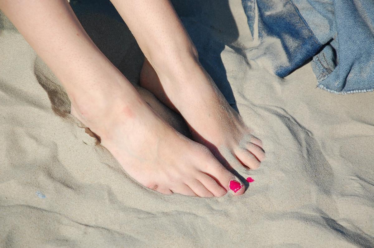 Trabajo de mano en la playa sexo en la playa /