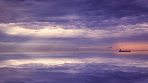 mar,agua,Oceano,horizonte,ligero,nube