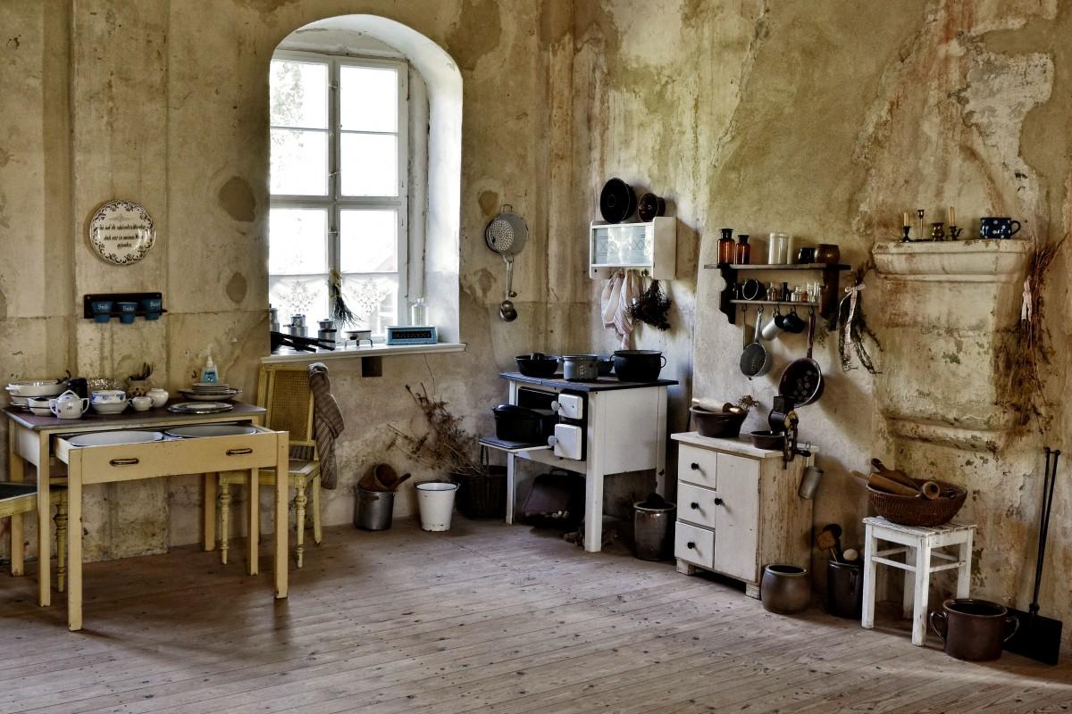 Immagini Belle : tavolo, legna, annata, casa, pavimento, vecchio ...