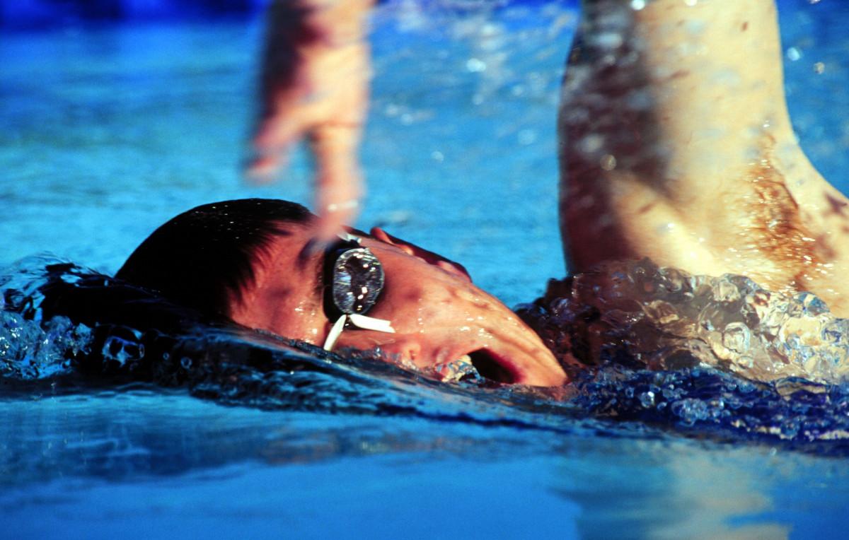 masculino piscina
