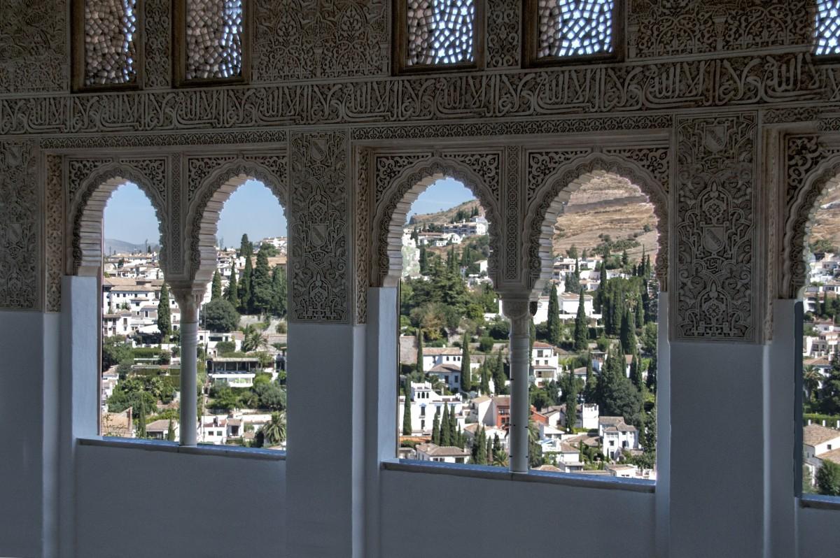 Fotos gratis arquitectura palacio casa ventana - Diseno interiores granada ...
