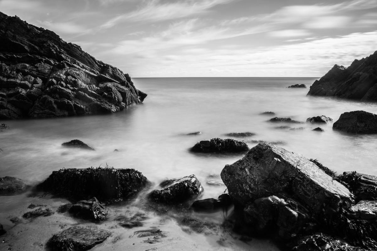 Images gratuites mer c te eau roche oc an horizon for Materiel et paysage