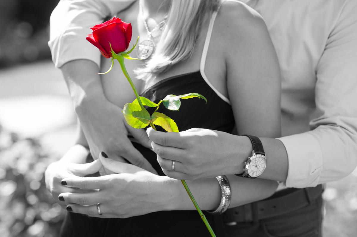 Романтическую картинку любимой девушке