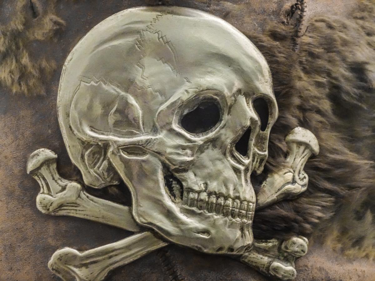 Открытки череп