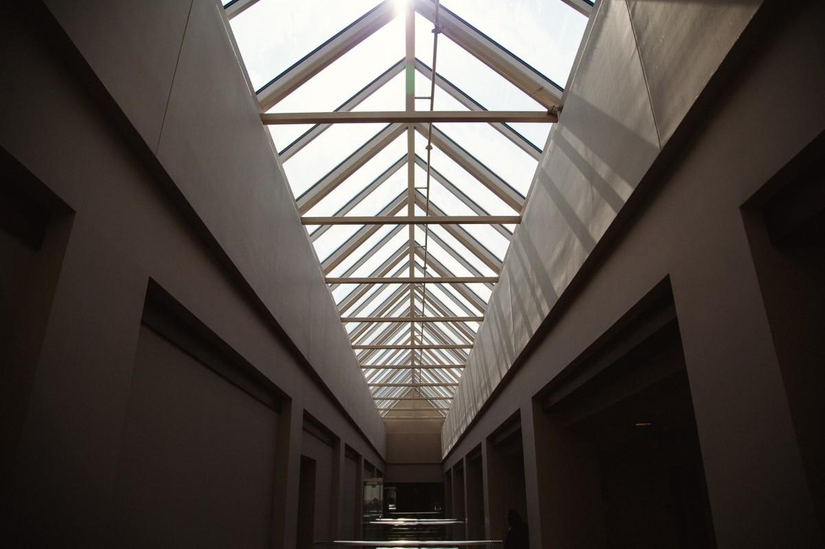 光, 建築, 構造, 家, 建物, 天井