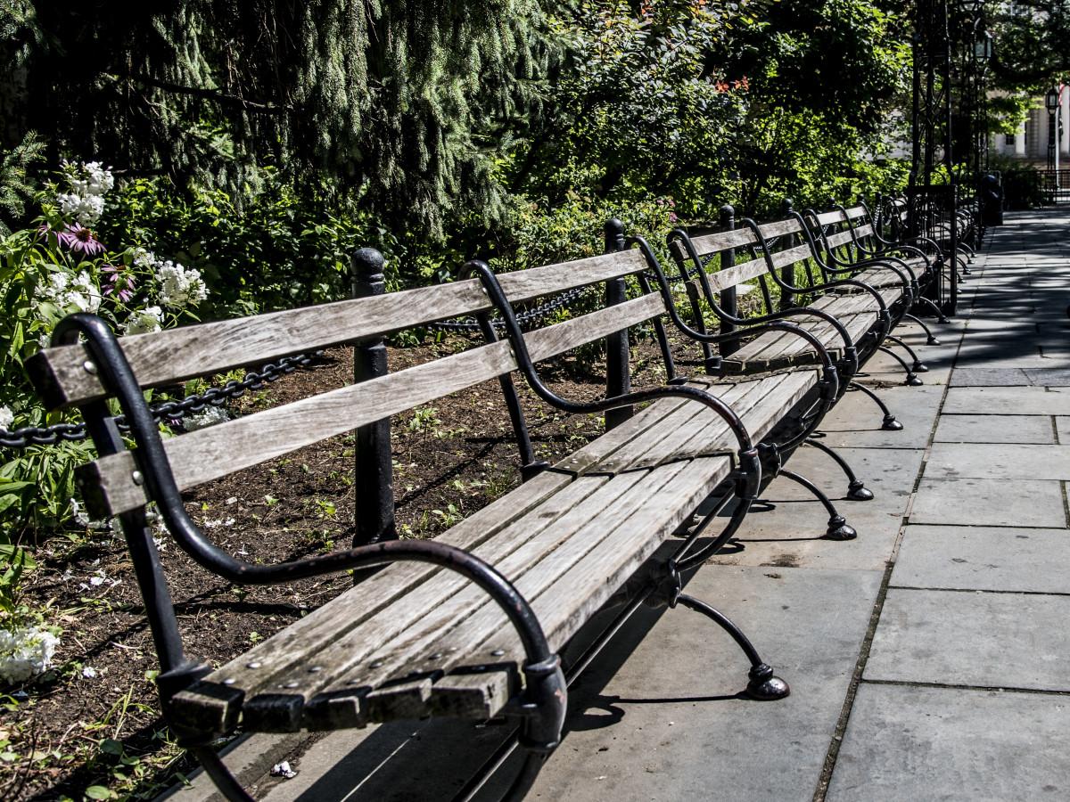 Kostenlose foto Zaun Holz Spur Sitz Fahrrad Gehweg