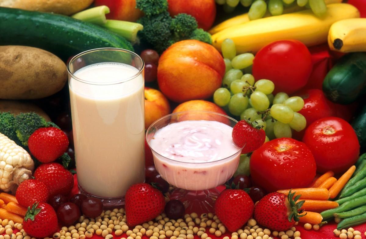 молочно растительная диета меню
