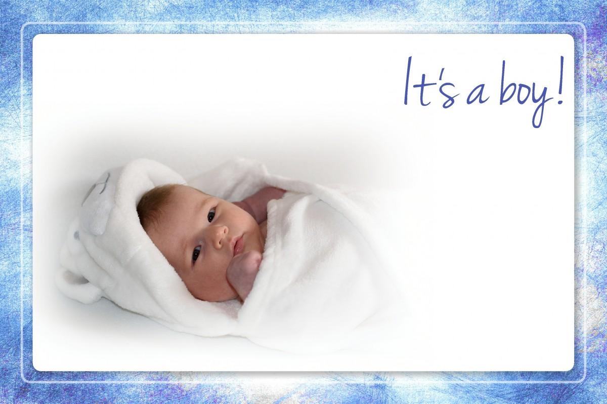 С новорожденным фото открытка
