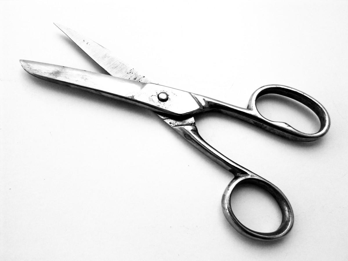 Fotos gratis herramienta metal oficina cortar h lice for Tijeras para jardineria