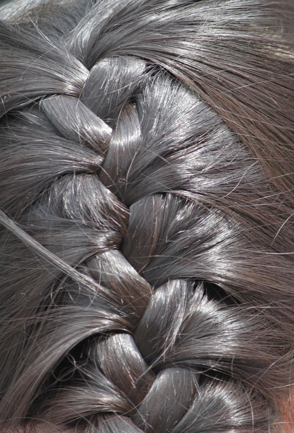 Kostenlose Foto Mädchen Haar Braun Kind Material Frisur