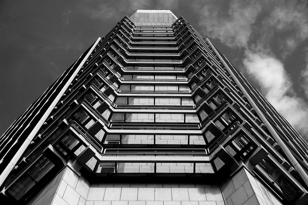 Fotos gratis en blanco y negro arquitectura cielo for Arquitectura en linea