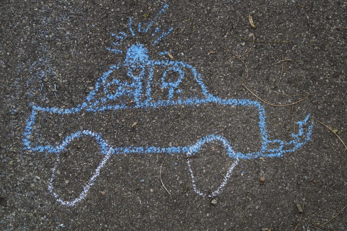 Police Car Website >> Fotos gratis : arena, suelo, número, asfalto, niño, pintar ...
