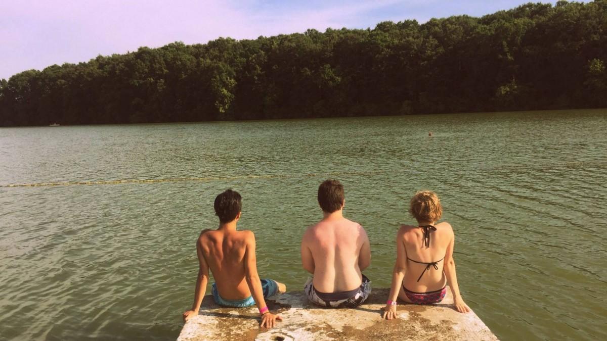 Рассказ секс в реке, Порно рассказы: Лето у реки - Первый секс 8 фотография