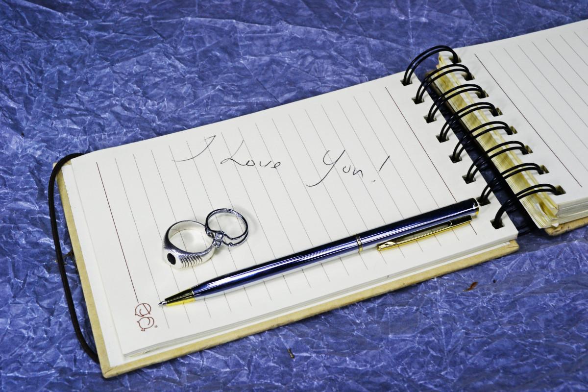 Free images notebook ring spiral romance wedding brand notebook ring spiral romance paper wedding brand greetings sri lanka ceylon i love you love letter m4hsunfo