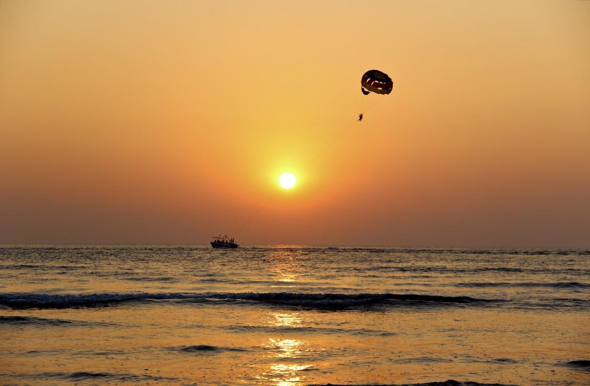 playa yelapa parasailing bahía de banderas jalisco mexico