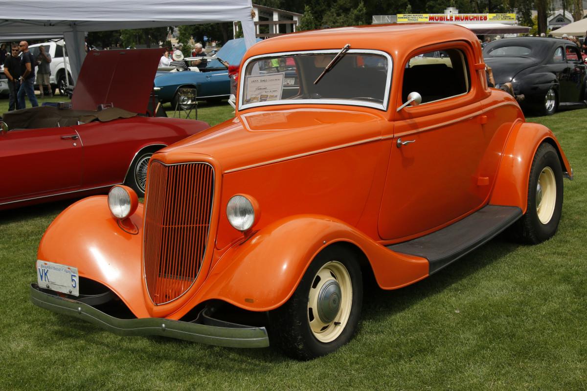Classic Mini Orange Paint Code