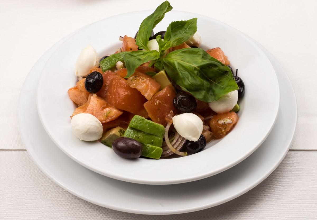 Free images dish meal food green mediterranean - Green vegetarian cuisine ...