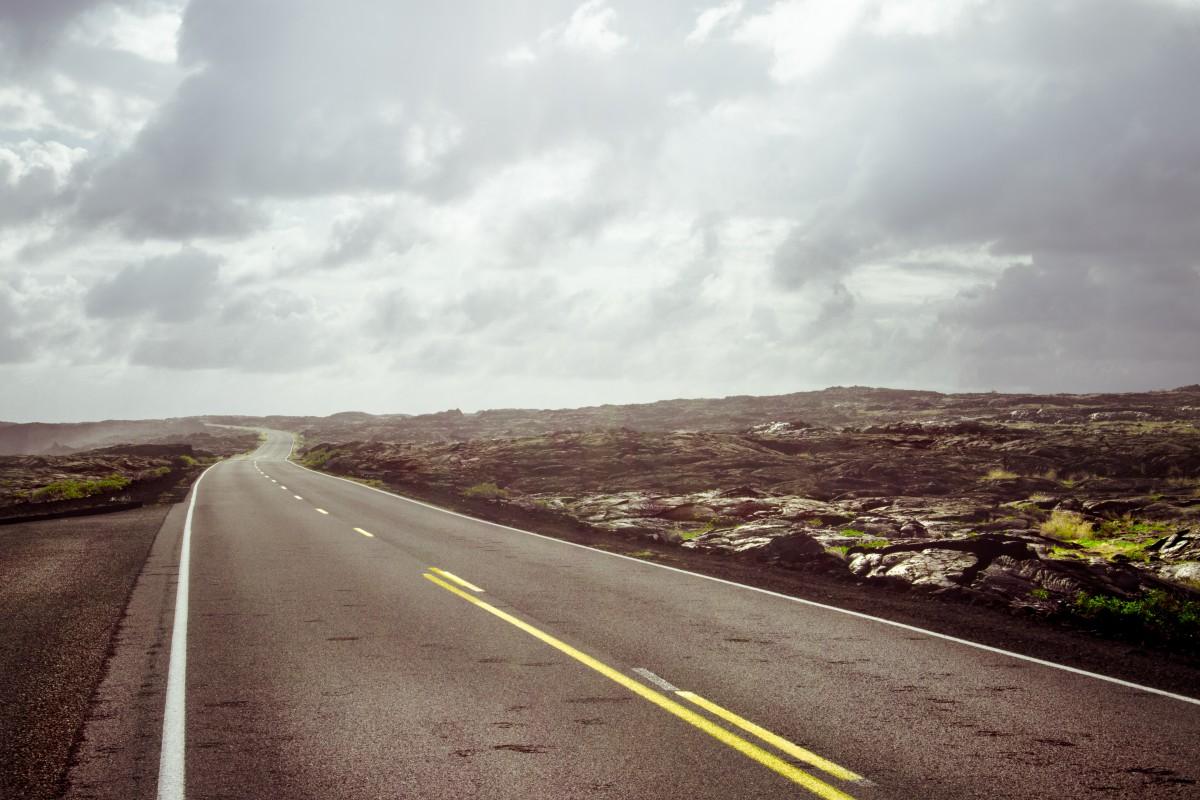 горизонт небо дорога шоссе красивые картинки украшен цветочными