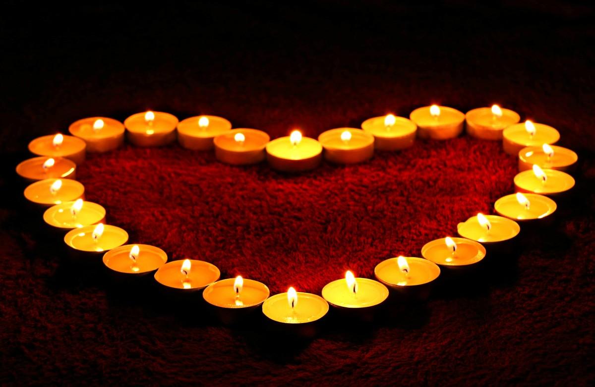 свечей рисунок из