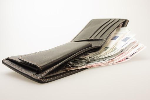 レザー,お金,財布,繊維,財布,予備