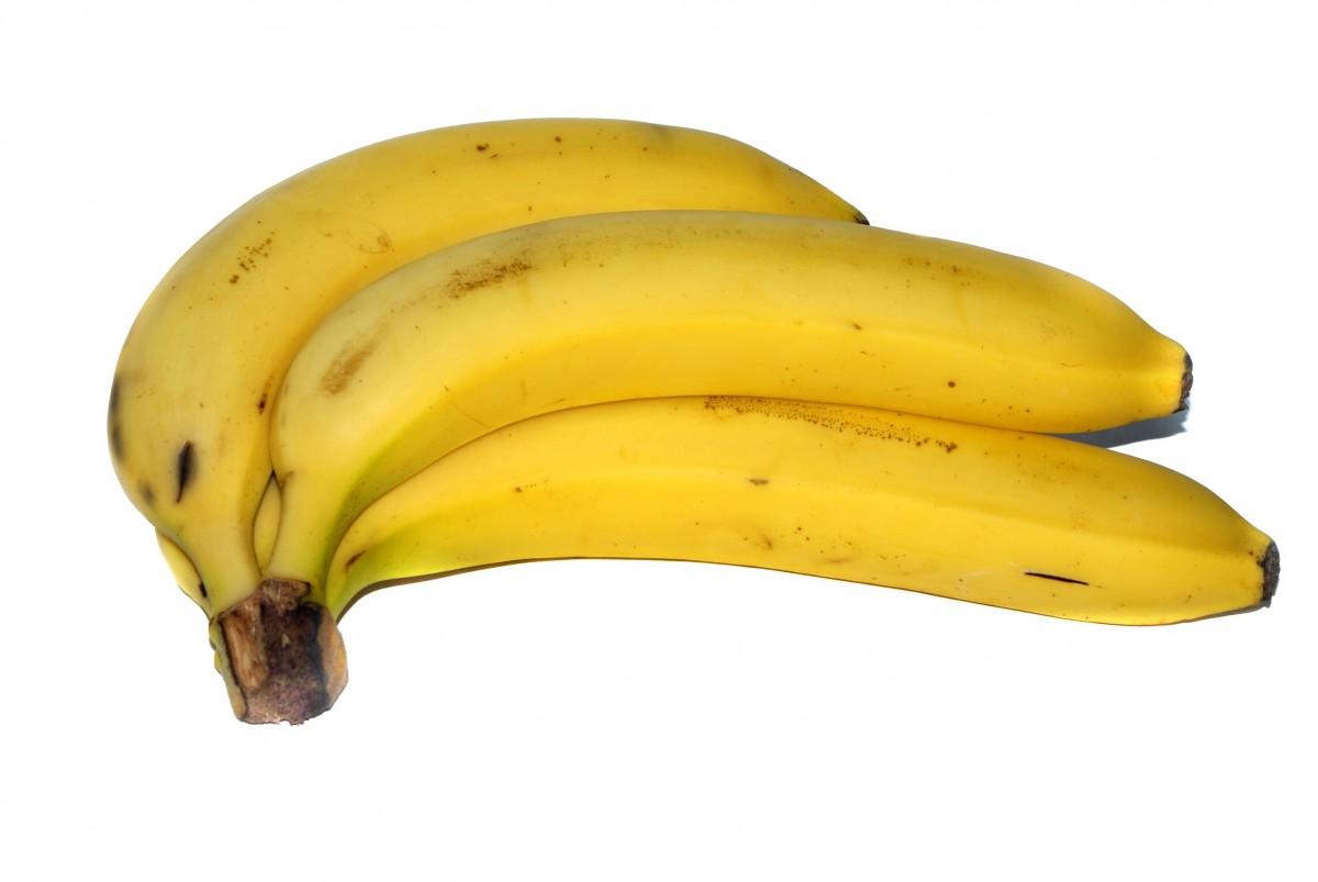 Экран компьютера, картинка с бананом