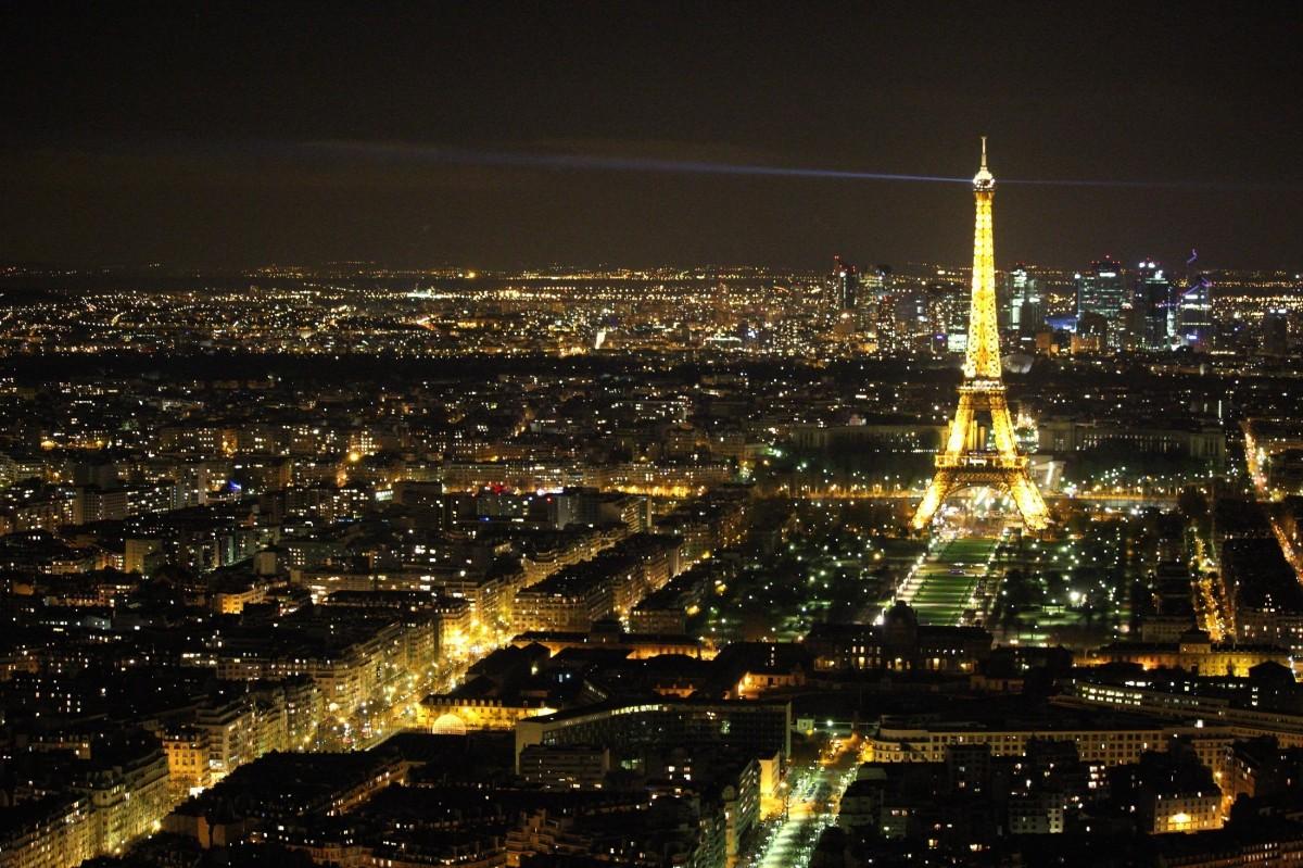 Images gratuites horizon lumi re horizon nuit ville - Images tour eiffel gratuites ...