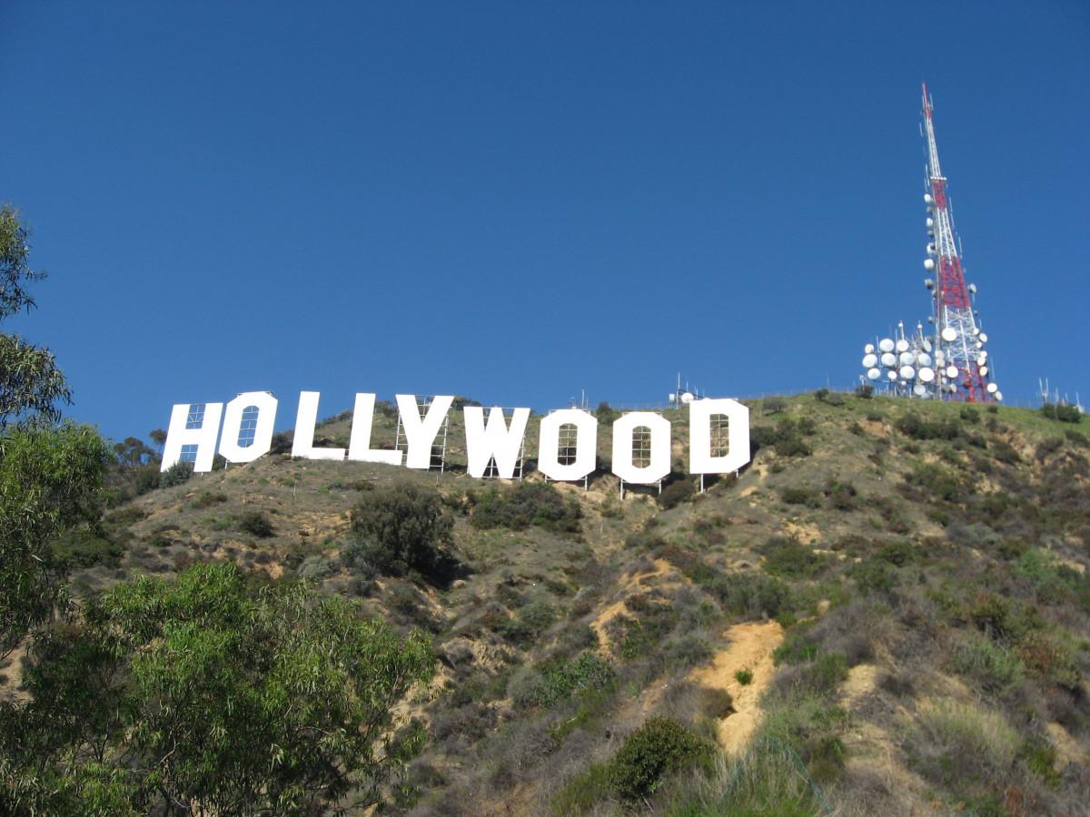 montaña, cordillera, turista, torre, Estados Unidos, ladera, punto de referencia, histórico, California, Colinas, famoso, icono, ecosistema, El cartel de Hollywood