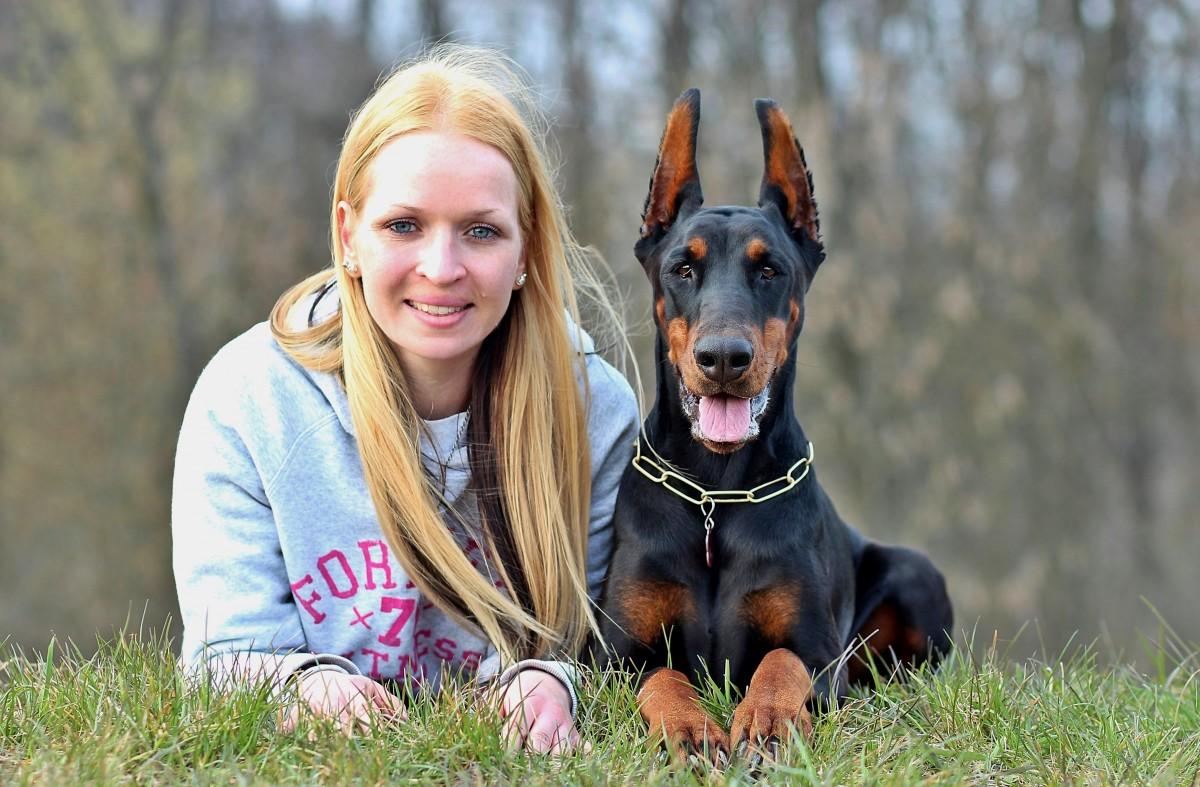 редких доберман собака трахц женшине выбора термобелья