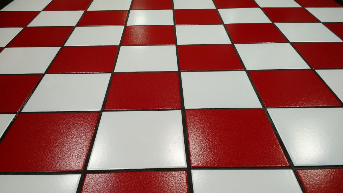 Fotos gratis blanco patr n cuadrado gris azulejo - Lechada azulejos ...