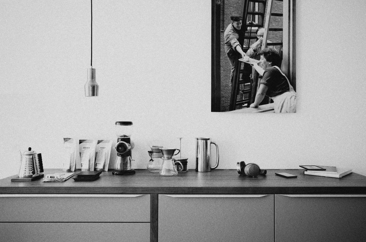 무료 이미지 : 검정색과 흰색, 화이트, 집, 내부, 벽, 장비, 부엌 ...
