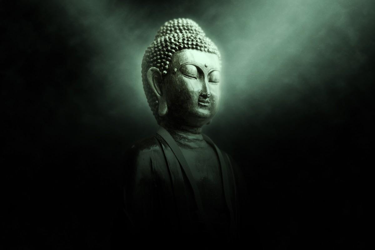 kostenlose foto schwarz und wei mystisch monument dunkel statue schatten buddhismus. Black Bedroom Furniture Sets. Home Design Ideas