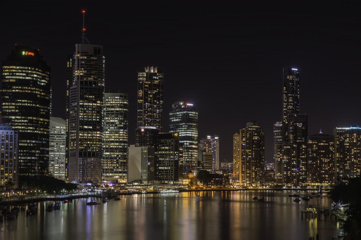 free images water horizon light skyline night