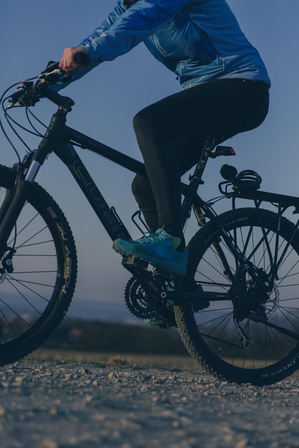 Sport Fahrrad Fahrrad Sommer Fahrzeug blau