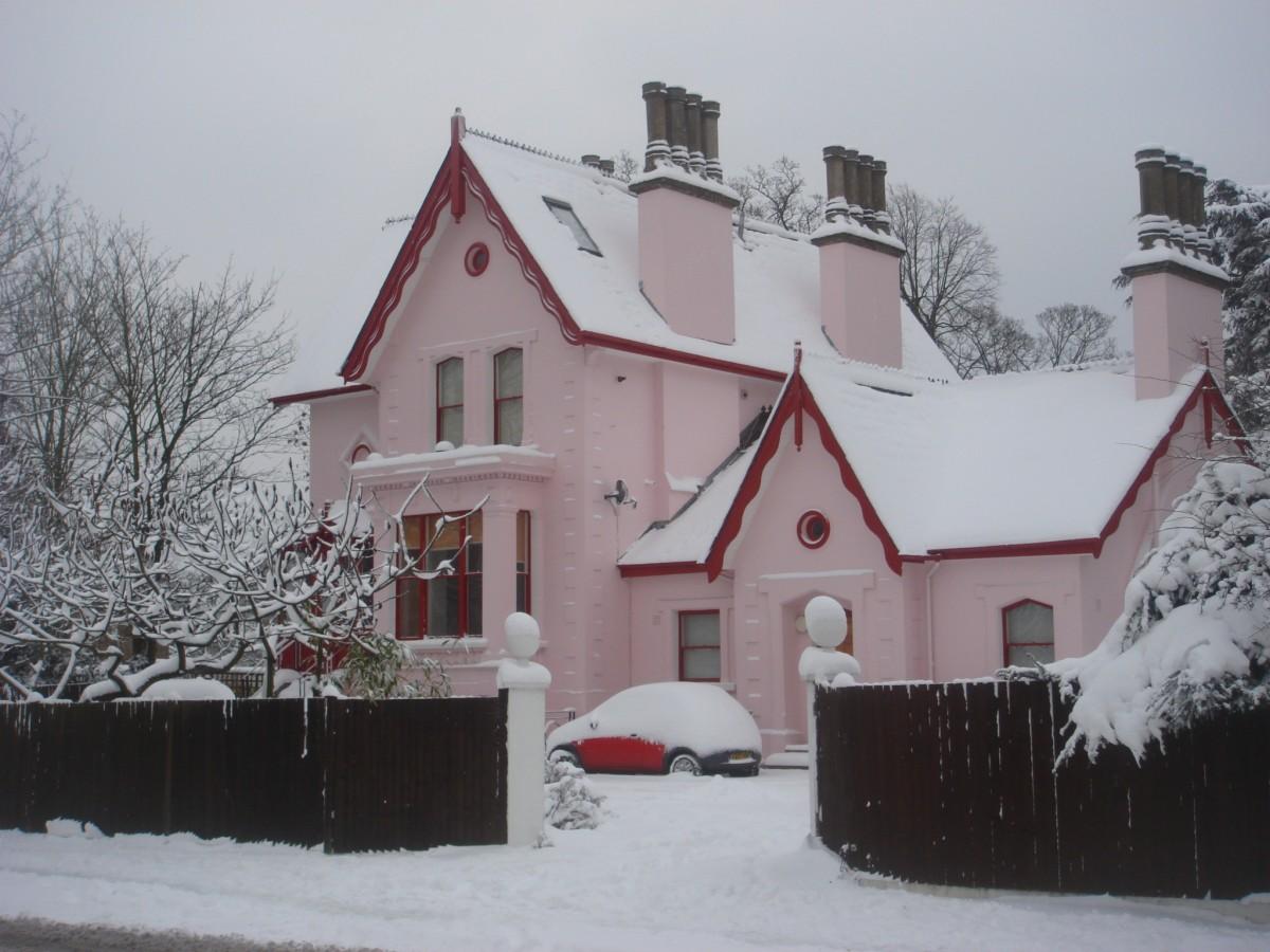 Immagini belle albero natura la neve freddo inverno quartiere tempo metereologico - Tempi costruzione casa ...