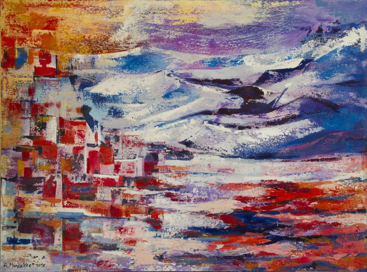 Citaten Kunst Yang Bagus : Gambar lukisan seni modern cat air impresionis