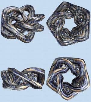chaîne et pendentif en argent