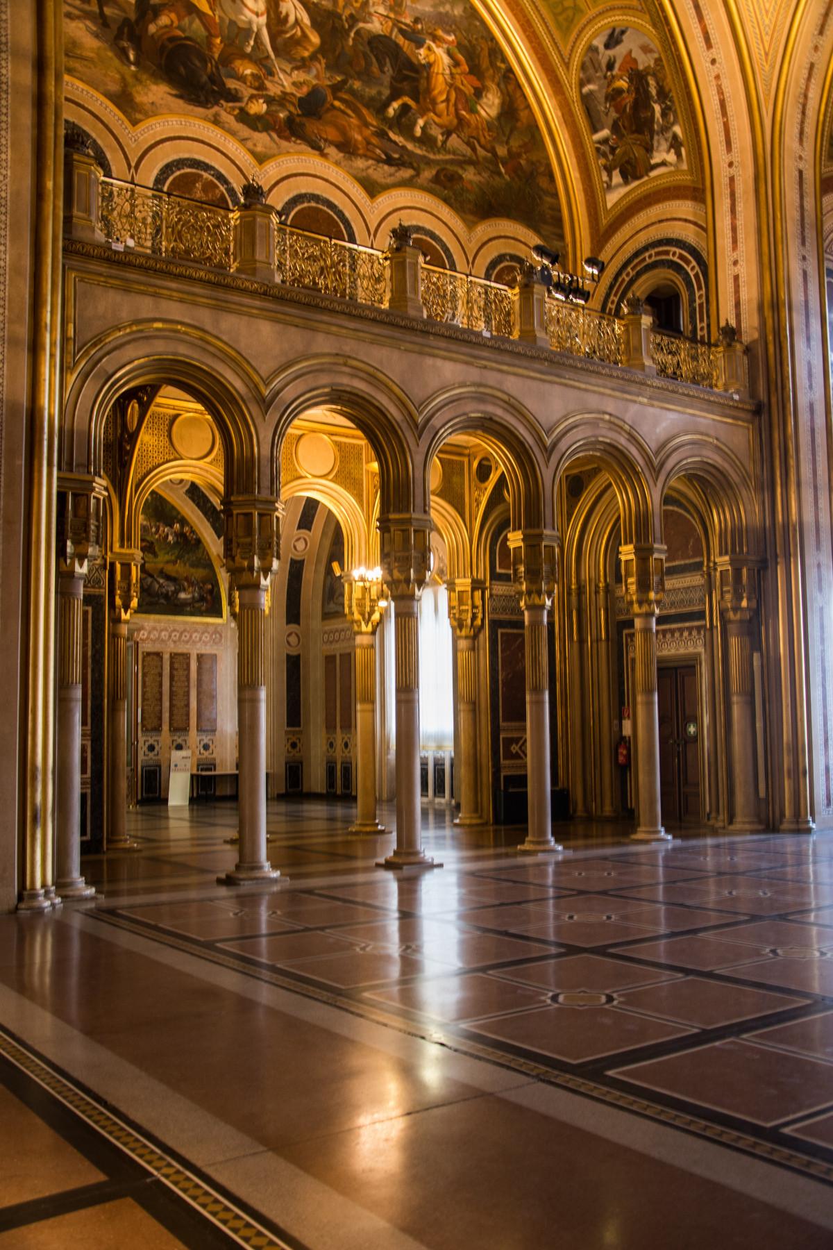 Fotos gratis arquitectura edificio palacio arco for Sala 0 palacio de la prensa